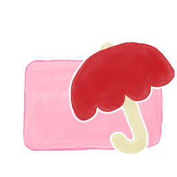 Folder Candy Umbrella icon