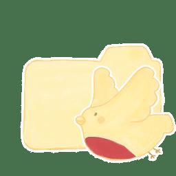 Folder Vanilla Birdie icon