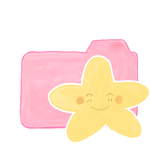 Folder-Candy-Starry-Happy icon