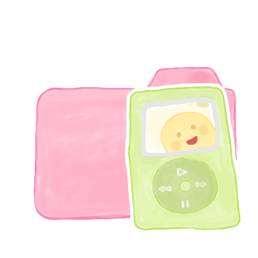 Folder-Candy-iPod icon