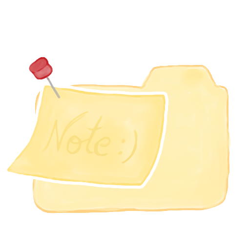 Folder Vanilla Note icon