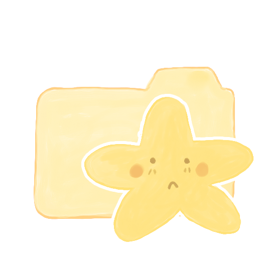 Folder Vanilla Starry Sad icon