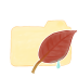 Folder-Vanilla-Leaf icon