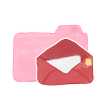 Folder-Candy-Mail icon