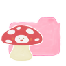 Folder-Candy-Mushroom icon