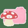Folder-Candy-Mushroom icon