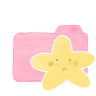 Folder-Candy-Starry icon