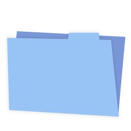 CM Folder Blue icon