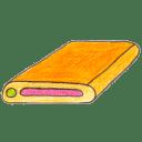Osd harddisk 1 icon