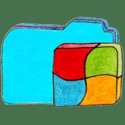 osd folder b windows icon