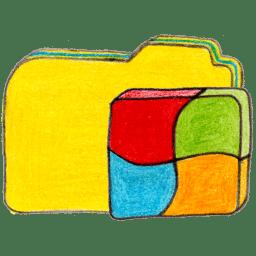 osd folder y windows icon