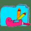 Osd folder b applications icon
