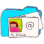 Osd-folder-b-contacts icon