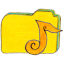 Osd-folder-y-music icon