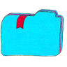Osd-folder-b-bookmarks-2 icon