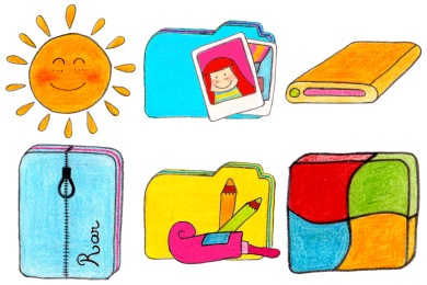 O Sunny Day Icons