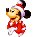 Mickey Christmas icon