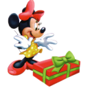 Minnie Christmas icon
