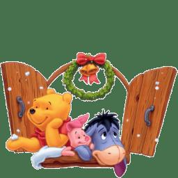 Poo Christmas icon