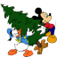 Mickey Mouse Donald Christmas icon