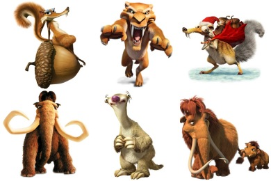 Ice Age Icons