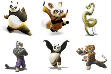 Kung Fu Panda Icons