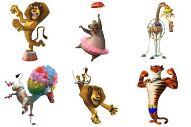 Madagascar 3 Icons