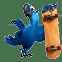 Blue 2 icon
