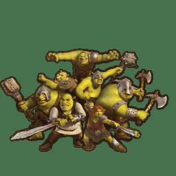 Shrek and Fiona icon