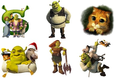 Shrek Icons
