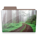 forest folder icon