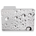 Water-drops-folder icon