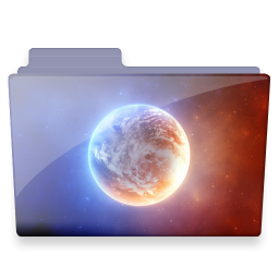 planet folder icon