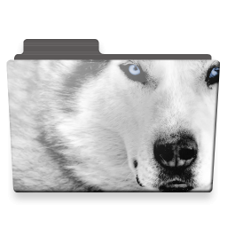 wolf folder icon