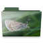 butterfly folder icon