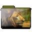 Lion-folder icon