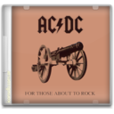 ACDC For those about to rock icon