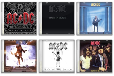 AC/DC Icons