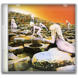 Led Zeppelin houses of the holy icon