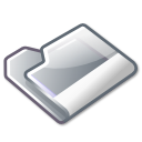 folder grey icon