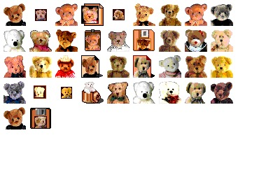 Teddy Bear Icons