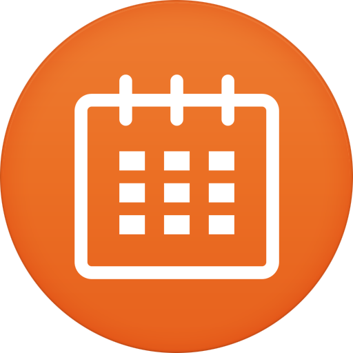 Calendar Icon | Circle Iconset | Martz90