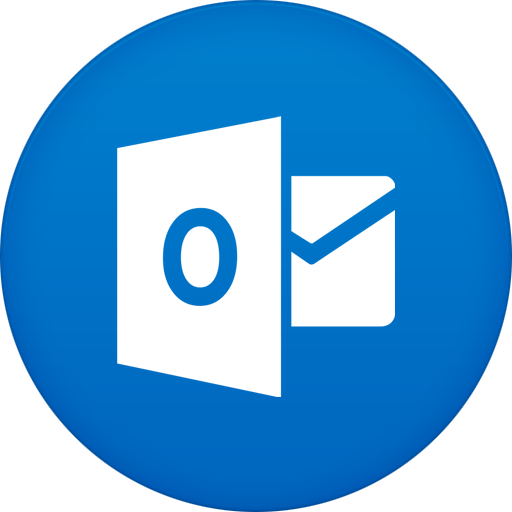 Outlook Contact Icon: Circle Iconset