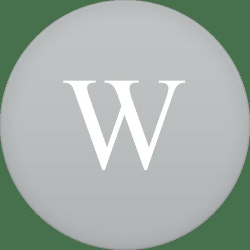 wikipedia icon circle iconset martz90