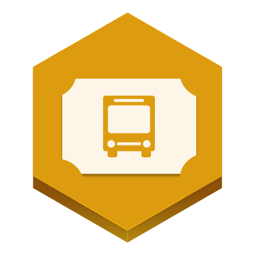 bus ticket icon