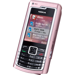 N72 pink icon