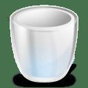 Desktop trash empty icon