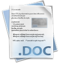 Filetype doc icon