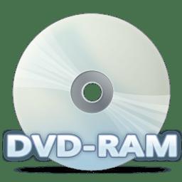 Disc dvdram icon