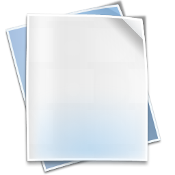 Filetype default icon
